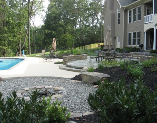 Stone Pool Accents