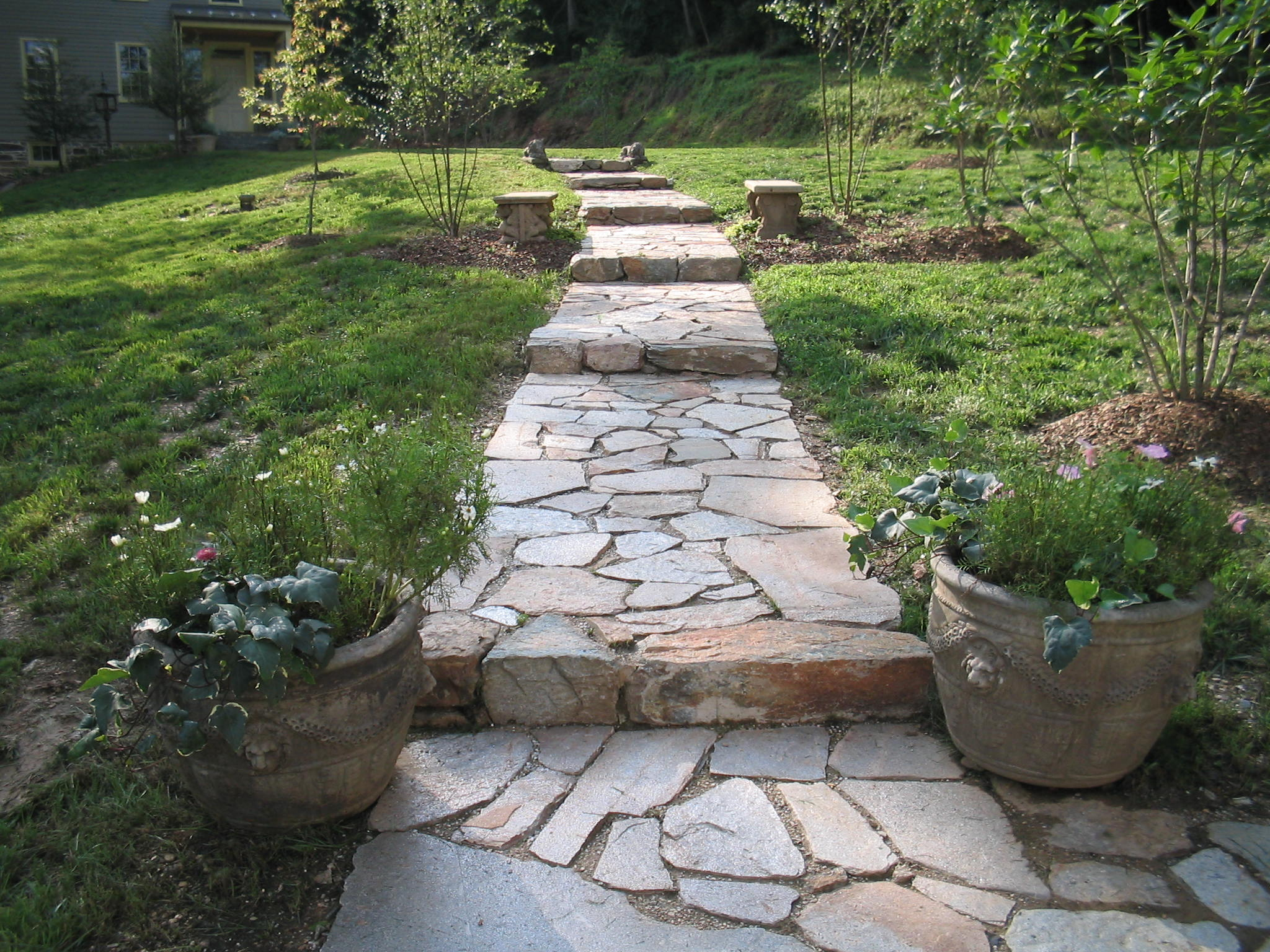 Stone walkways - Chevy Chase MD
