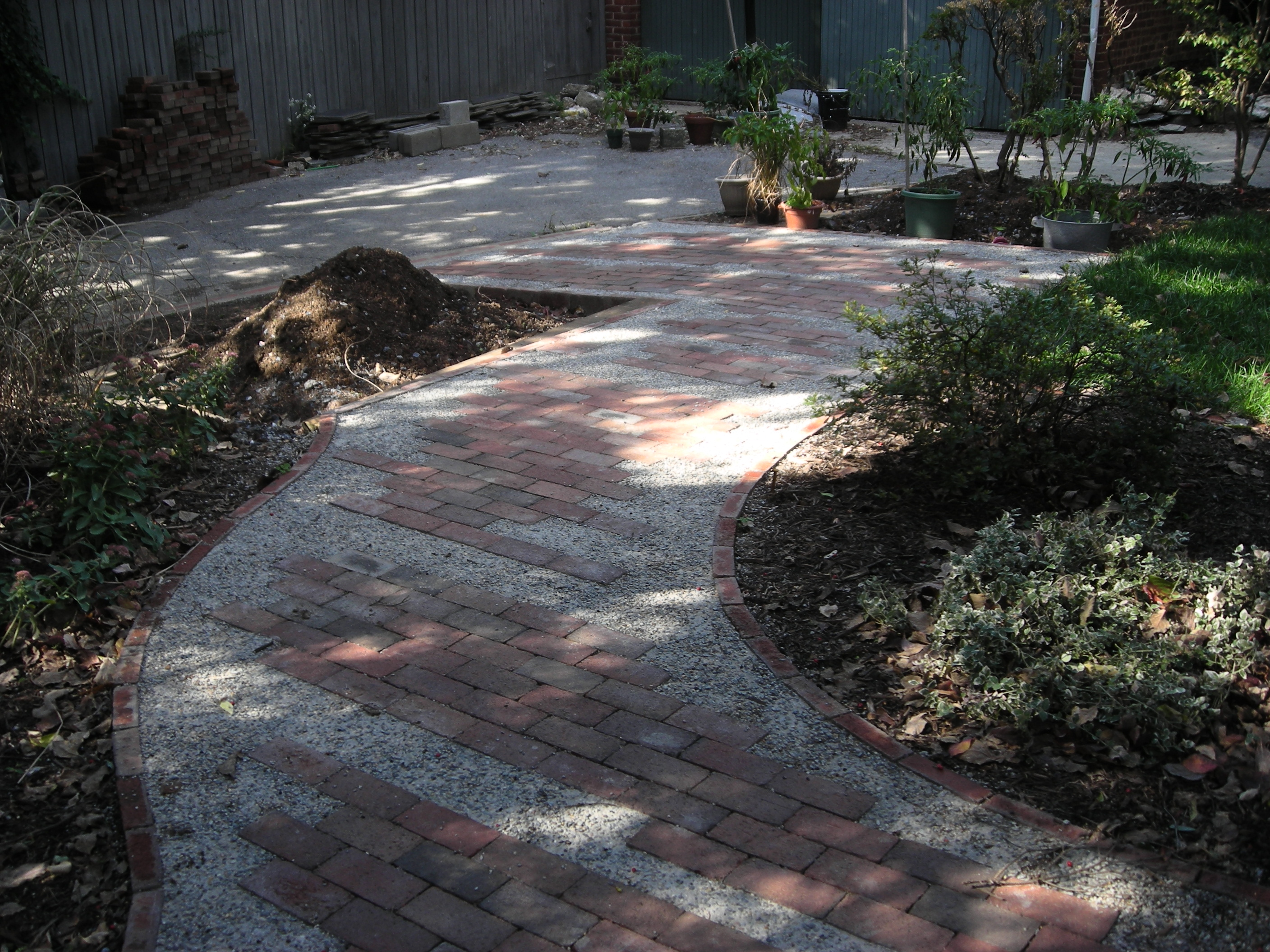Brick Walkway and Patio Designs