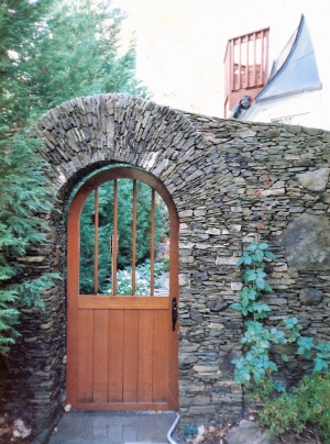 Custom Stone Archway