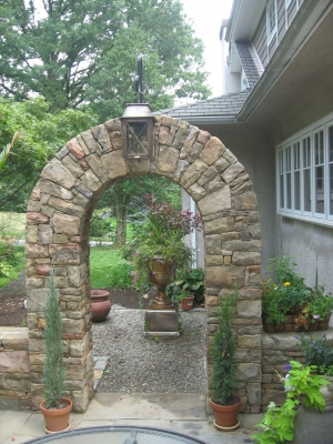 Stone Archway