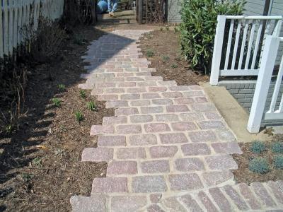 Custom Paver Walkway