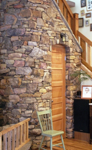 Stone Indoor Wall