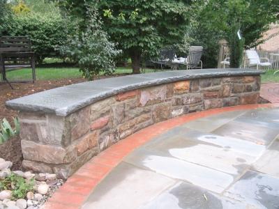 Stone Knee Wall