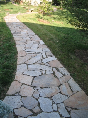 Custom Stone Paths
