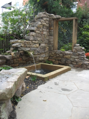 Handcrafted Stone Feature Wall