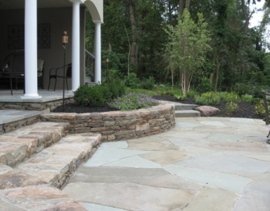 Professionally Installed Landscaping
