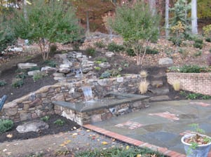 Before after landscape design jobs ellicott city md for Garden city pool jobs