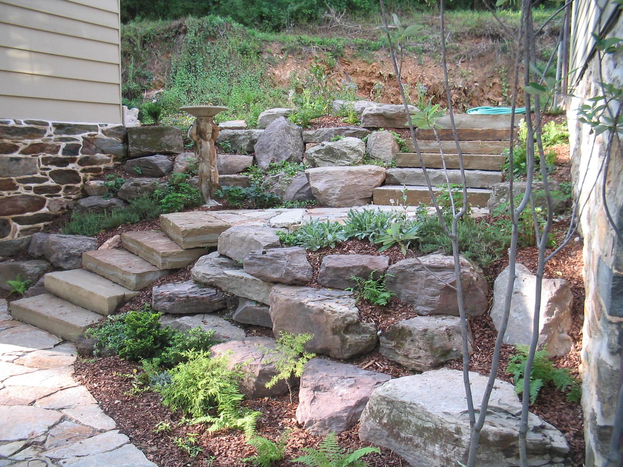 Before/After Landscape Design Jobs- Ellicott City MD ...
