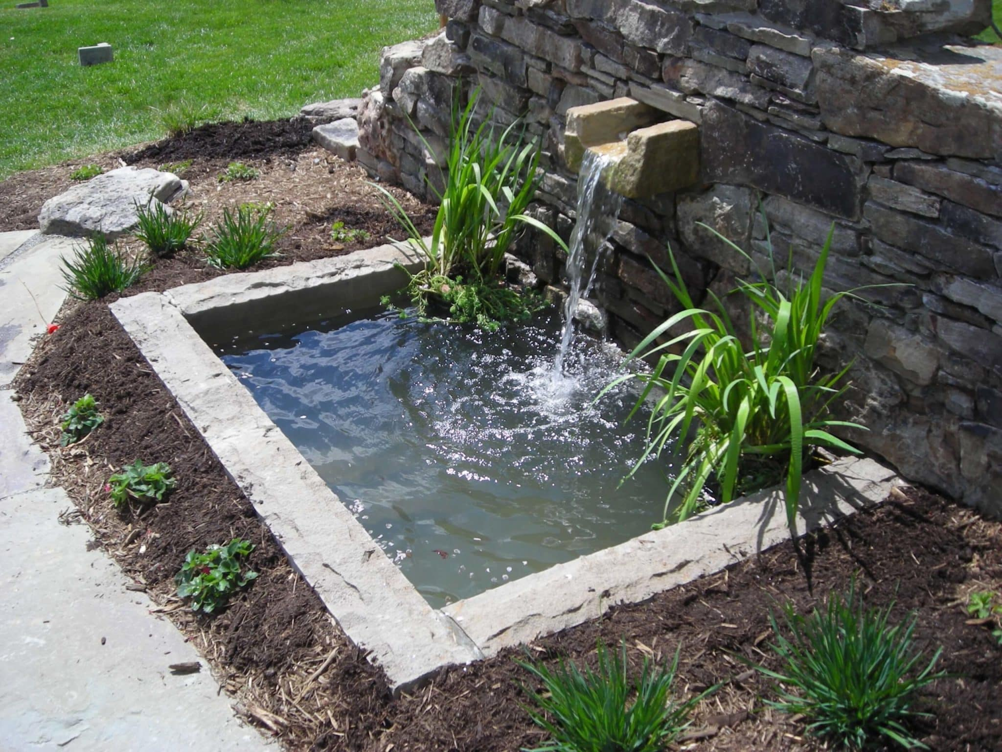 Landscape Water Features In Md Va And