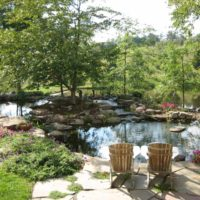 137 Naturally Beautiful Turtle Pond with Boulders