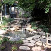 138 Gardenside Fish Pond and Waterfall