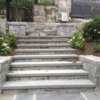 313 Stone Steps and Retaining Walls