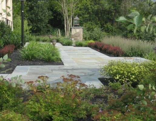 Landscaping Stone Maryland : Landscape lighting design in frederick md poole s