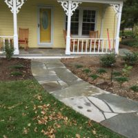 476 Front Walkway in PA Flagstone for Historic Home