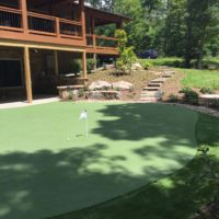 607 Residential Putting Green
