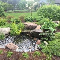 Bubbler Rock and Pondless Waterfall