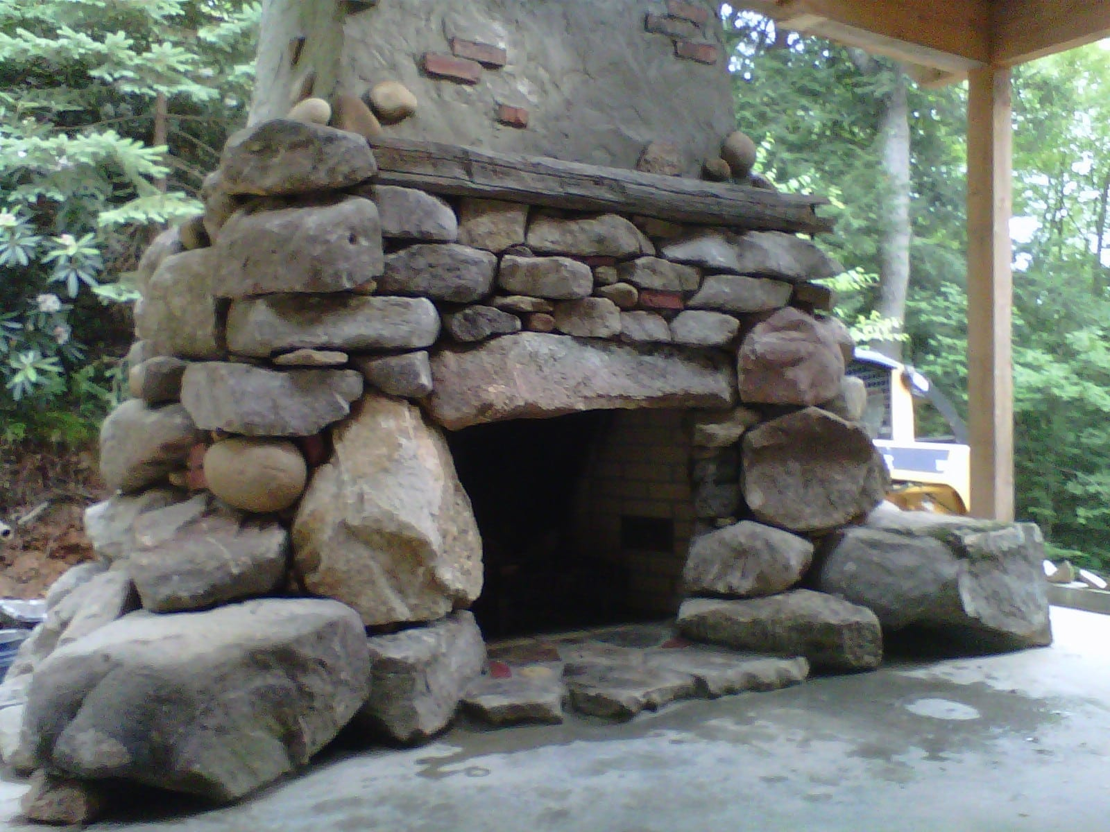 patio fireplace u0026 fire pits in frederick md poole u0027s stone u0026 garden