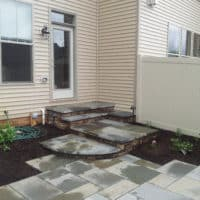 Upgraded Townhouse Steps from Kitchen to Patio