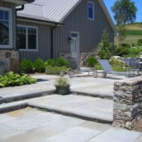 Flagstone Patios, Steps and Stone Walls 2