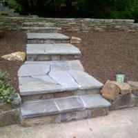 Stone Stairs and Walkway