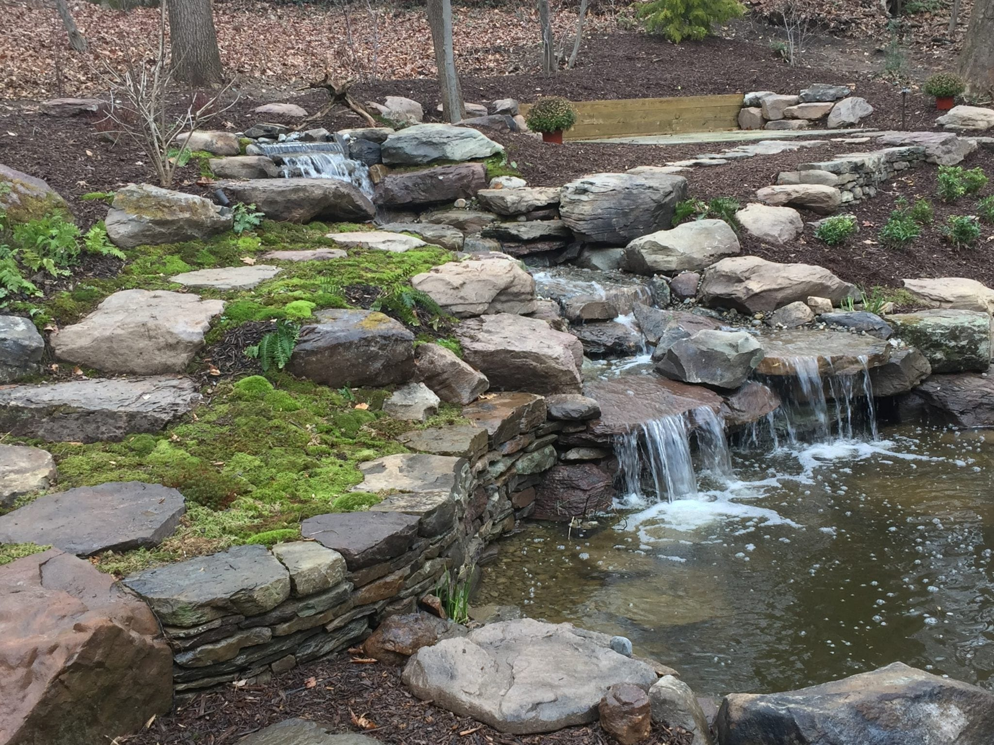 Landscape Water Features in MD VA and WV Poole s Stone & Garden