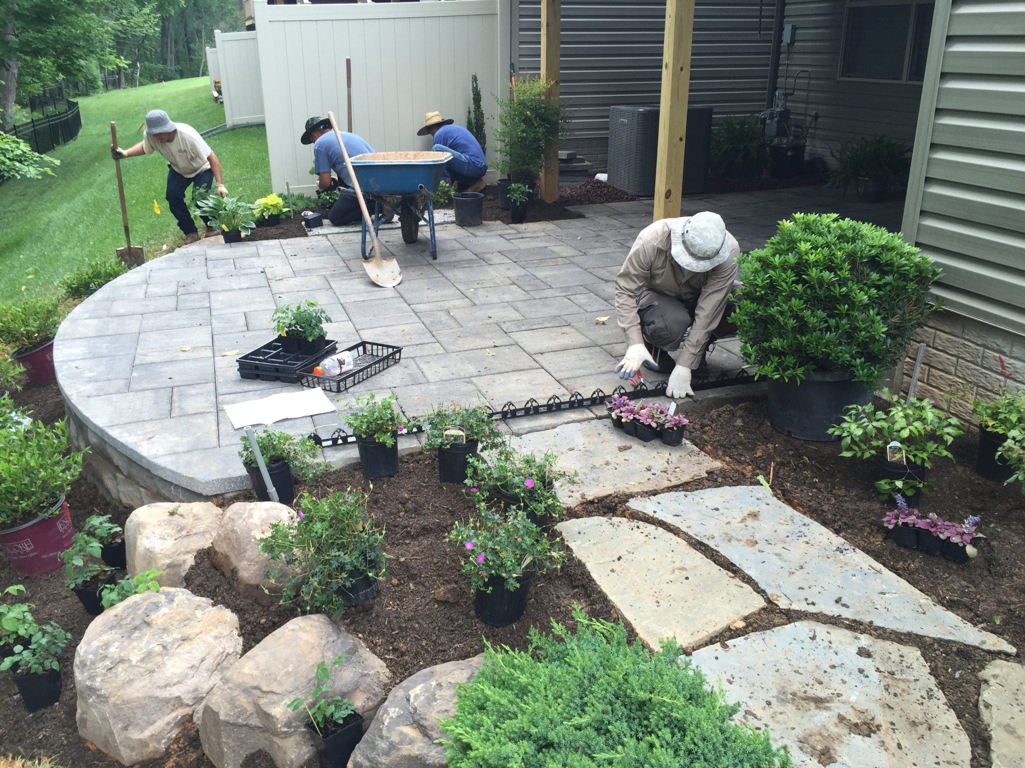 Outdoor Stone Patios In Va And Md