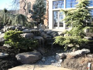 Water Feature in Loudon County, VA - After