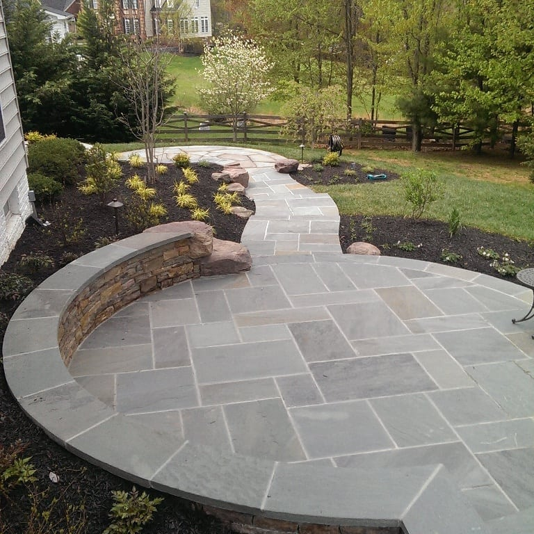 Outdoor kitchens amp stone patios in md va wv poole s stone amp garden