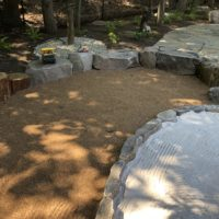 Natural Sand Box and Gravel Pit Play Space