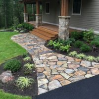 Stone Walkway to Wide Staircase 2