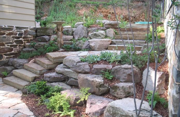 Boulders and Stones Pooles Stone Garden Pooles Stone Garden