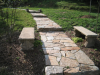stone-walkway-with-benches
