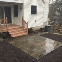 After Stone Patios Redesign in Leesburg VA