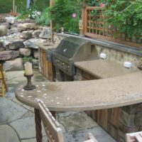 Custom Stone Patios and Walls in Maryland