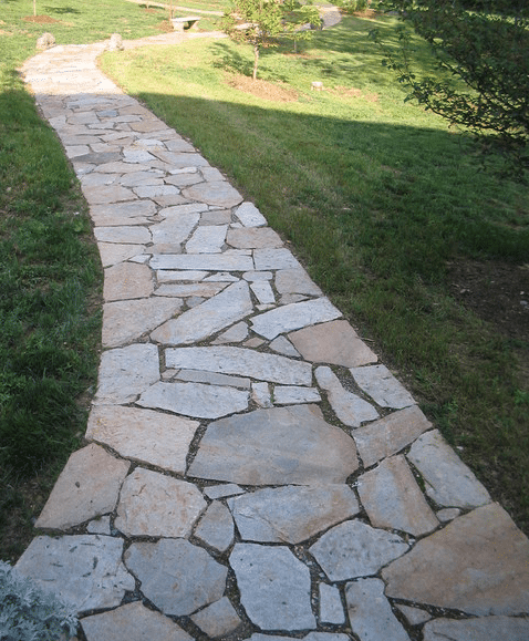 Image gallery natural stone walkways Natural stone walkways